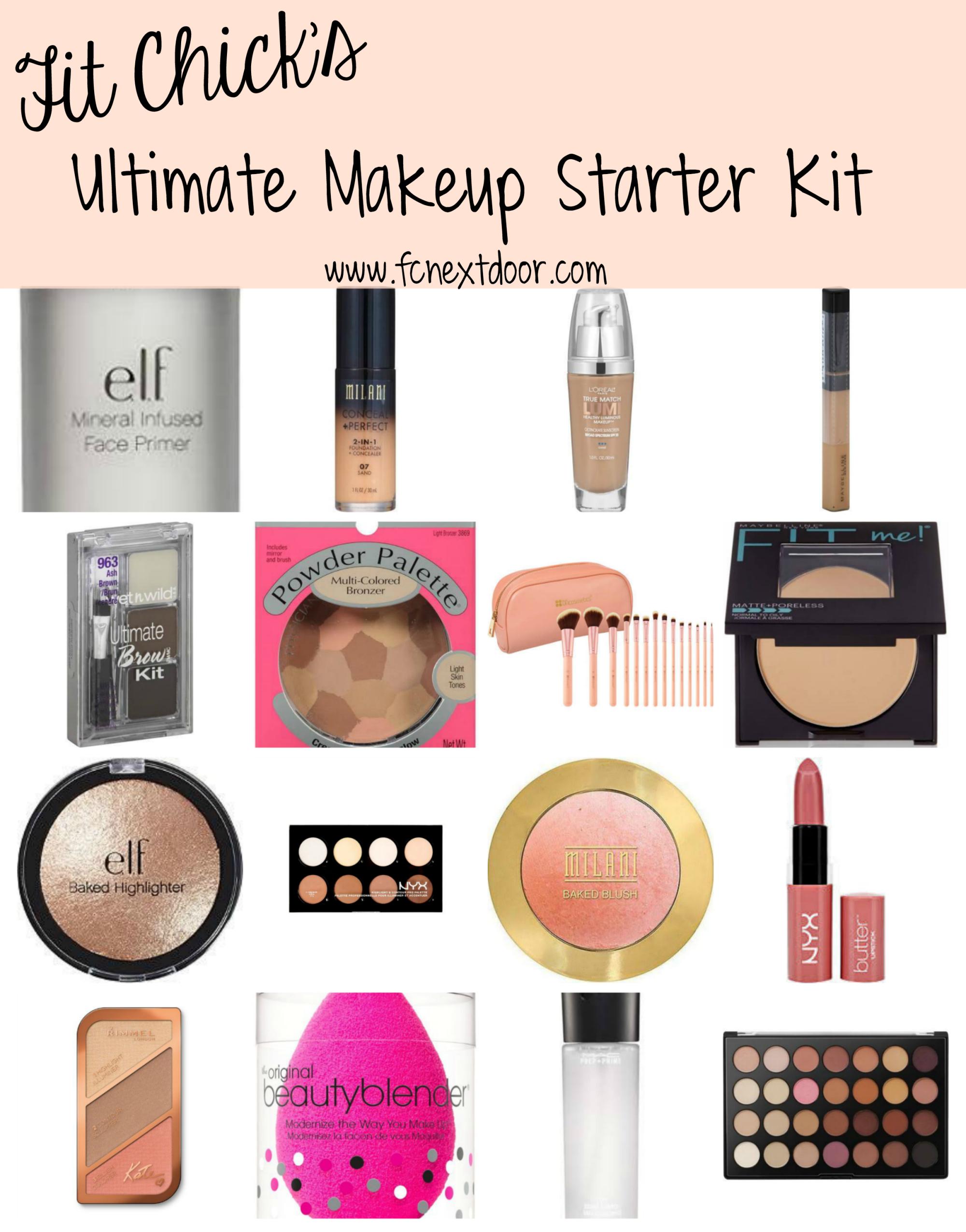 The Ultimate Makeup Starter Kit Makeup starter kit