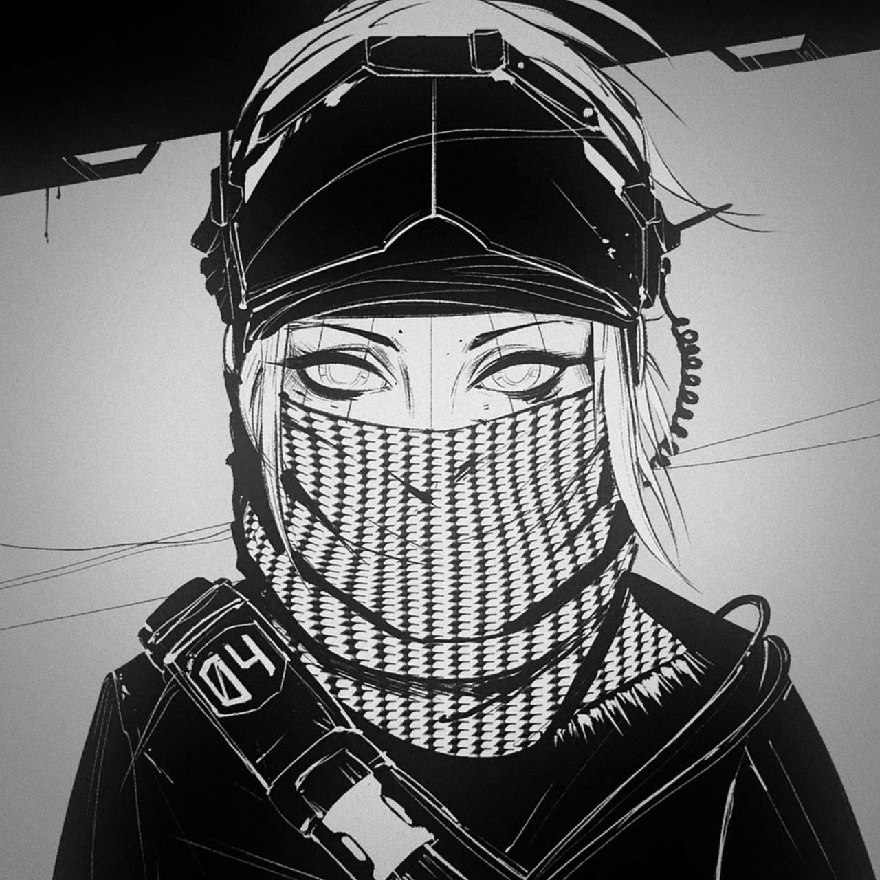 "madebyflou ""sketch FUTURISMA "" cyberpunk Pinterest"