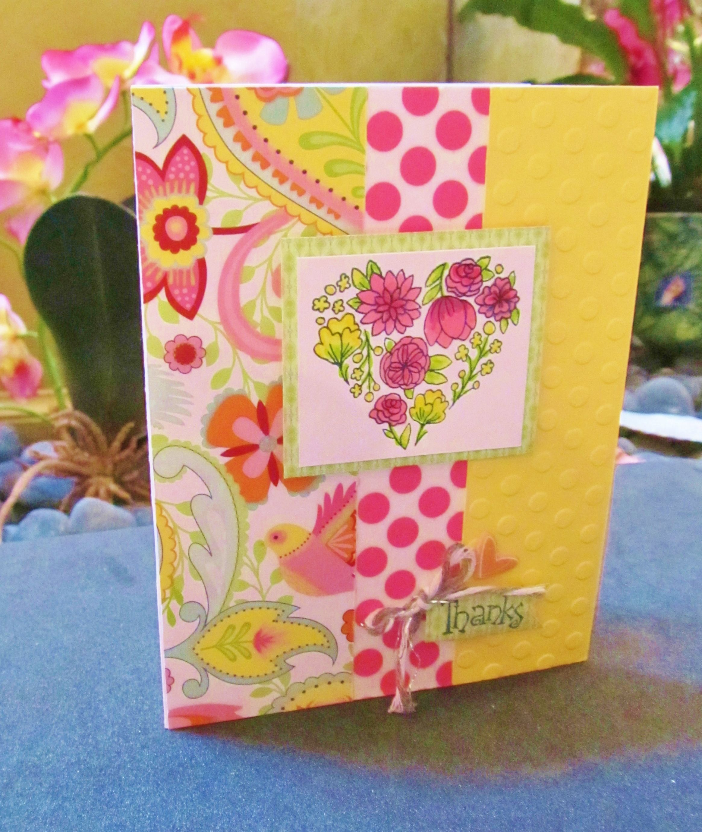 Im giving this card as a thank you to all my ctmh bulk buy in im giving this card as a thank you to all my ctmh bulk buy in customers it features chantilly paper washi tape a cute little puffed heart and one of kristyandbryce Choice Image