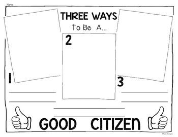 {Back to School} and Being Good Citizens!for