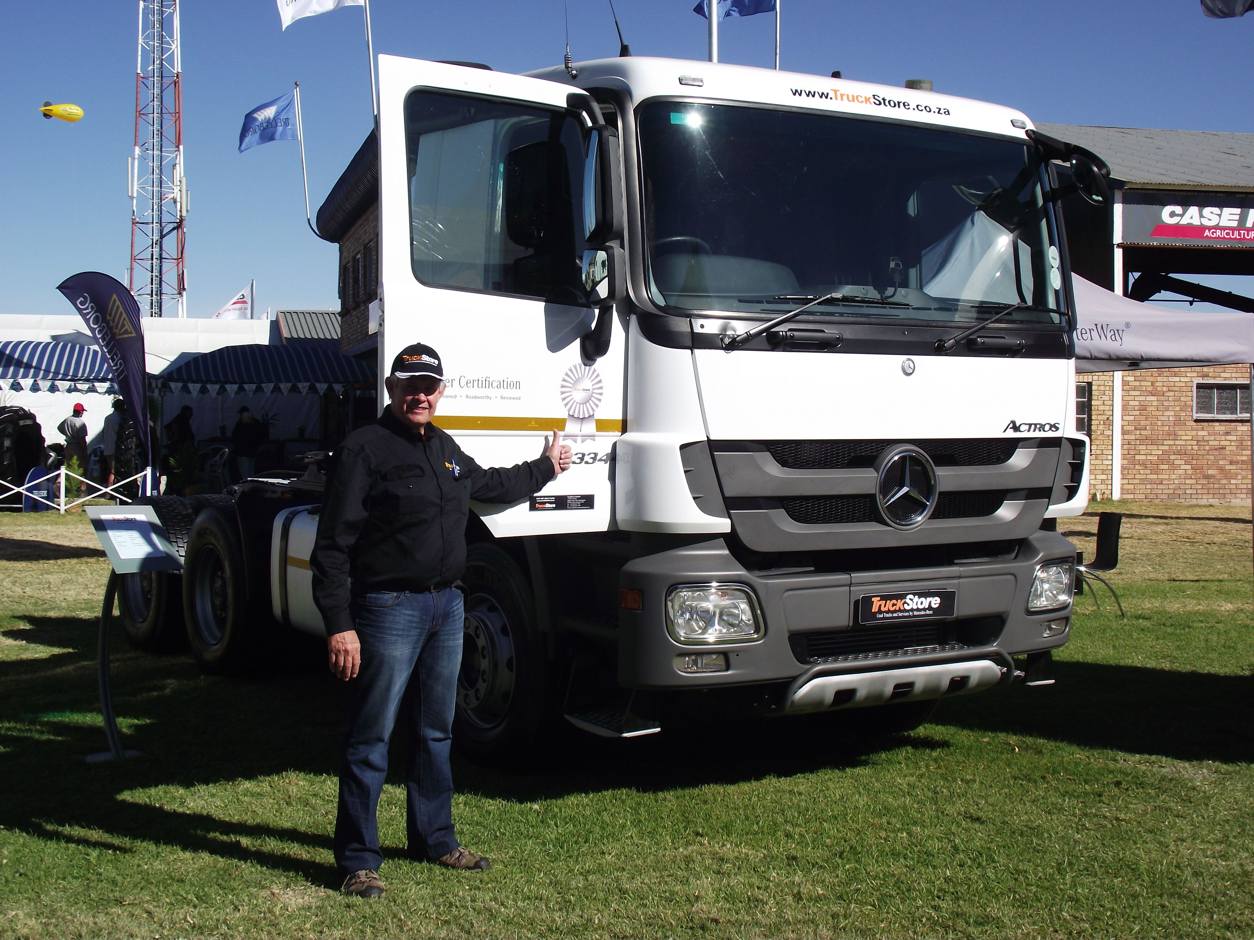 Actros | Mercedes-Benz Commercial Vehicles at Nampo 2014