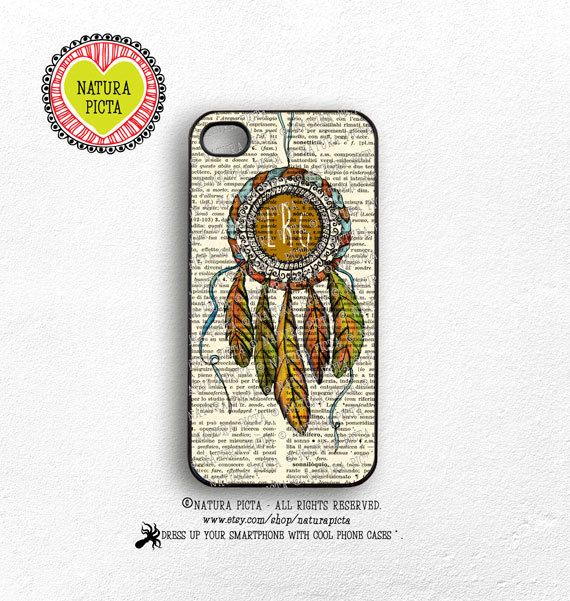 Custom Watercolor Dreamcatcher iPhone case 4/4S by naturapicta ©NATURA PICTA All Right Reserved