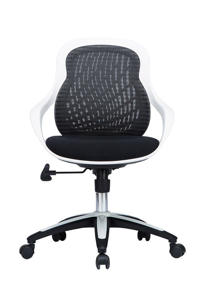 Amazoncom VIVA OFFICE Black and White MidBack Mesh Office