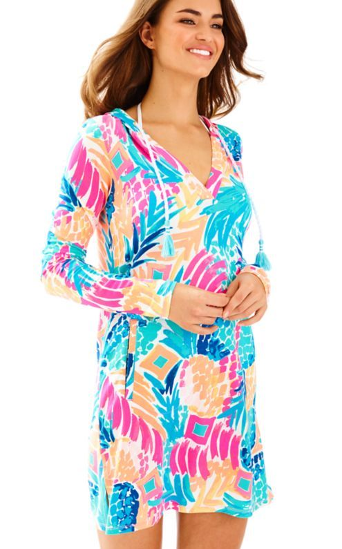 c1e02ad2af The Rylie Beach Cover Up Dress is a hooded dress with UPF 50 which means  you can be protected in the sun with extra Ultra Violet protective clothing.