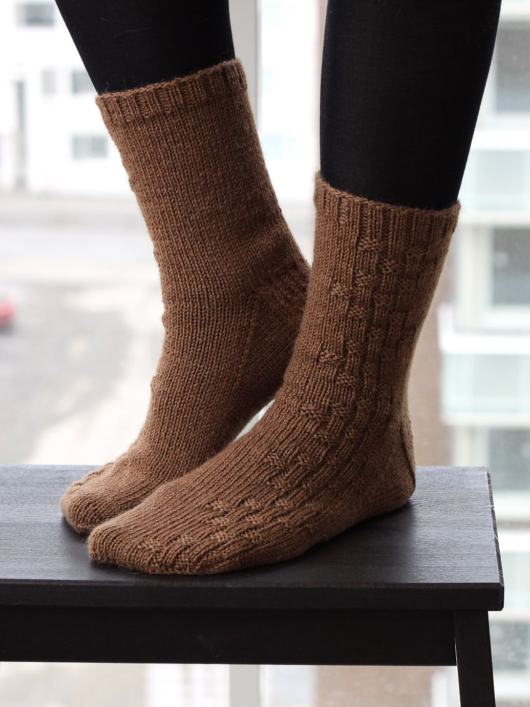 Basic socks with easy to do knit purl decoration socks basic socks with easy to do knit purl decoration bankloansurffo Gallery