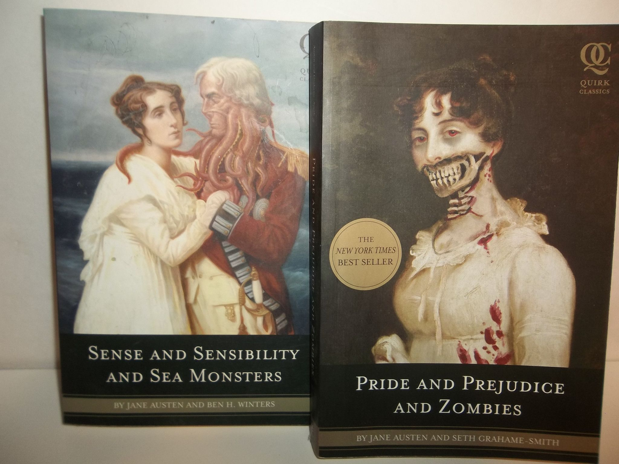 Pride And Prejudice And Zombies Sense And Sensibility And Sea Monsters Book Bundl Pride And Prejudice And Zombies Pride And Prejudice Monster Book Of Monsters