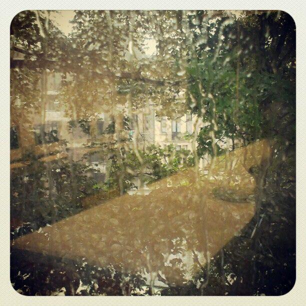 regen - weerkaatsing