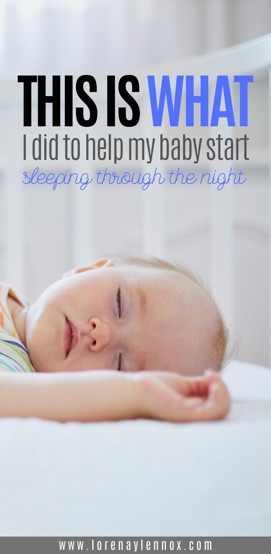 5 Ways I Helped My Baby Who Did Not Sleep Sleep Through The Night Lorena Lennox Bilingual Beginnings In 2020 Sleeping Through The Night Baby Sleep Schedule Baby Sleep Routine