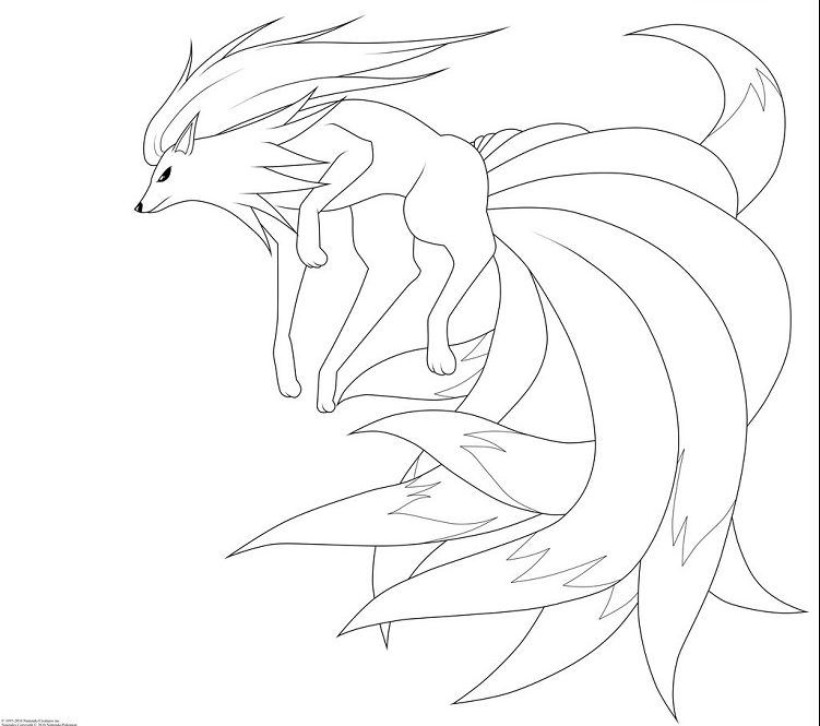 Pokemon Coloring Pages Ninetails Pokemon Coloring Pages Pokemon Coloring Coloring Pages