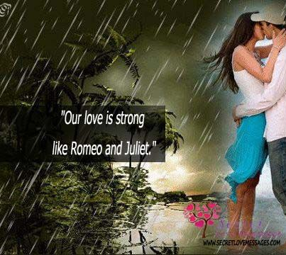 Our Love Is Strong Like Romeo And Juliet Secret Love