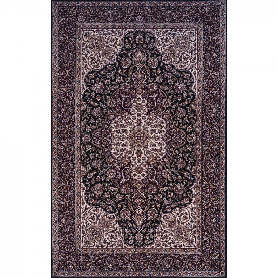 Wool rug Momeni Sutton Place Black Rug