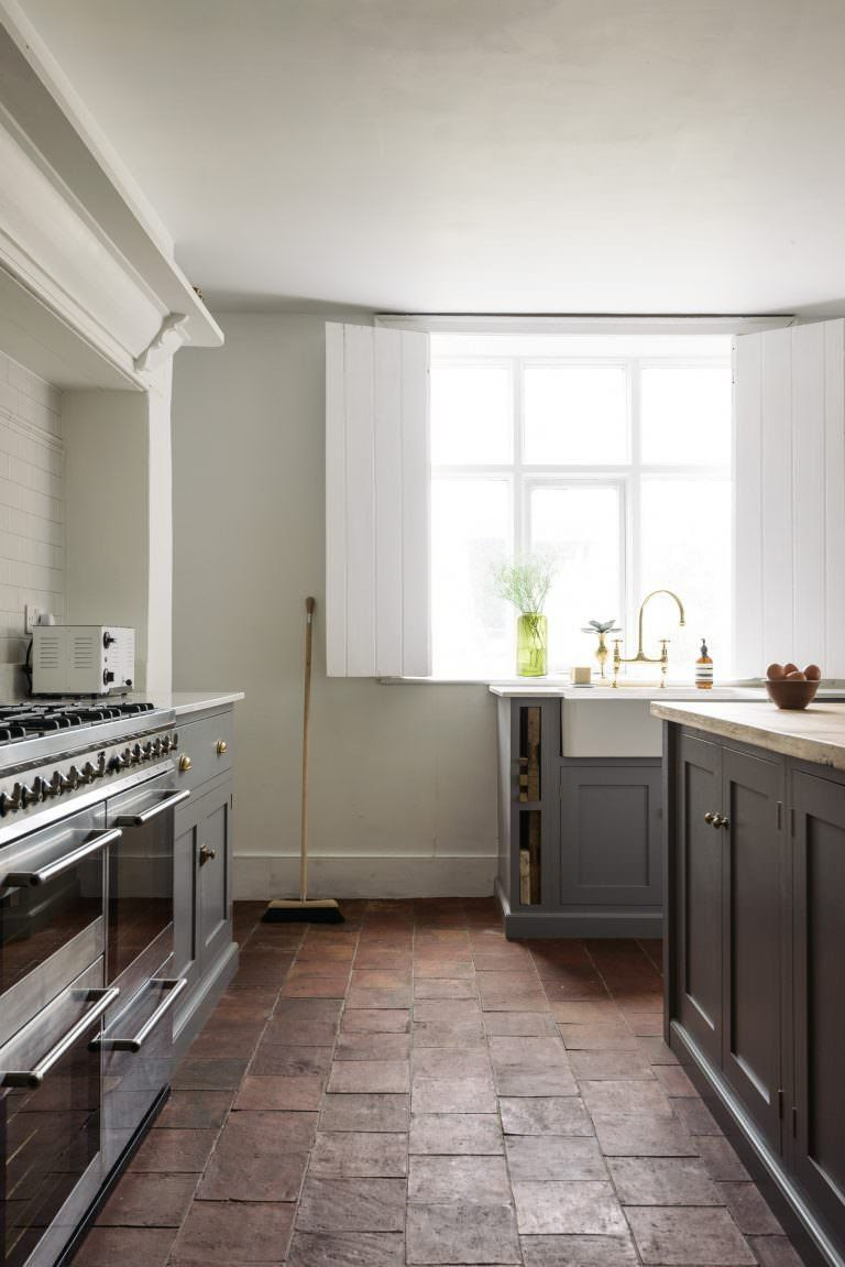 Pennant Chapel   Grey cupboards, Modern country kitchens and Modern ...