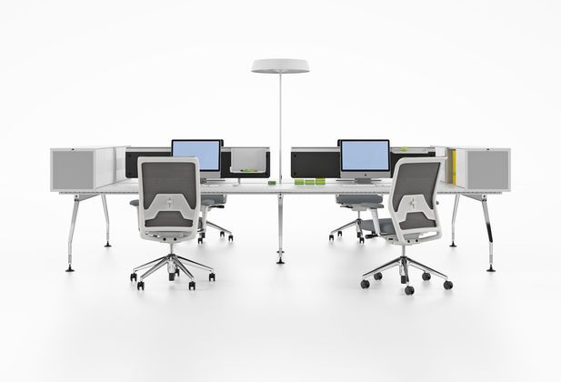 Vitra Ad Hoc Office Interior Design Workstation Office Table