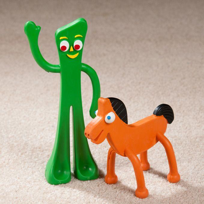 Gumby Pokey Rubber Dog Toys Dog Toys Nostalgic Toys Toys