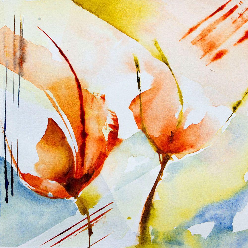 Petit Instant N 178 Peinture 15x15 Cm Par Veronique Piaser