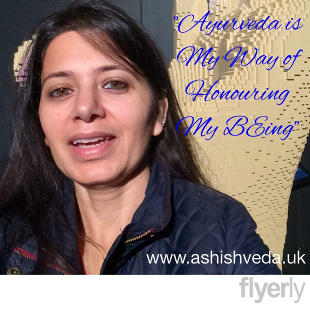 """Ayurveda is way of honouring my BEing"""
