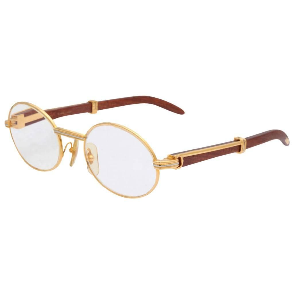 vintage cartier giverny palisander sunglasses