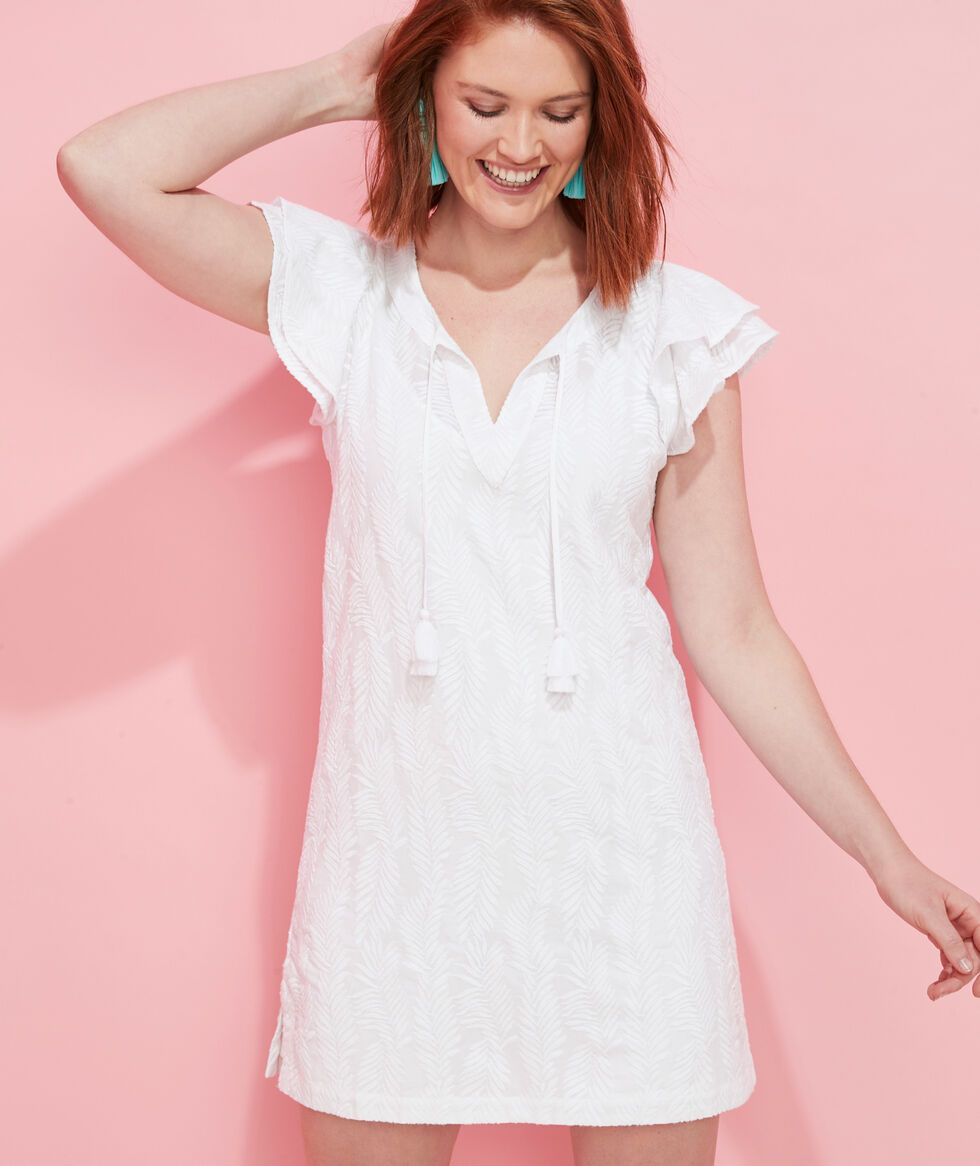 Shop Embroidered Palm Vineyard Tunic Dress At Vineyard Vines Tunic Dress Shopping Womens Dresses Dresses [ 1166 x 980 Pixel ]