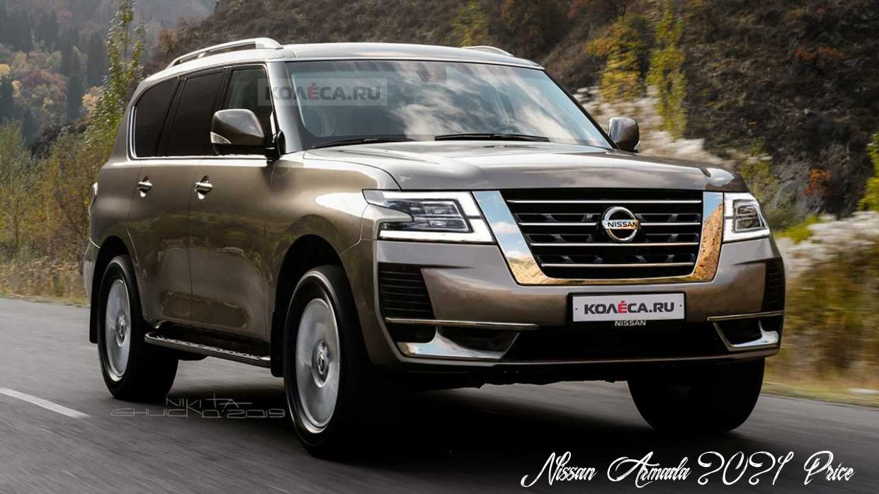 Nissan Armada 2021 Price Price Design And Review In 2020 Nissan Patrol Nissan Armada Nissan