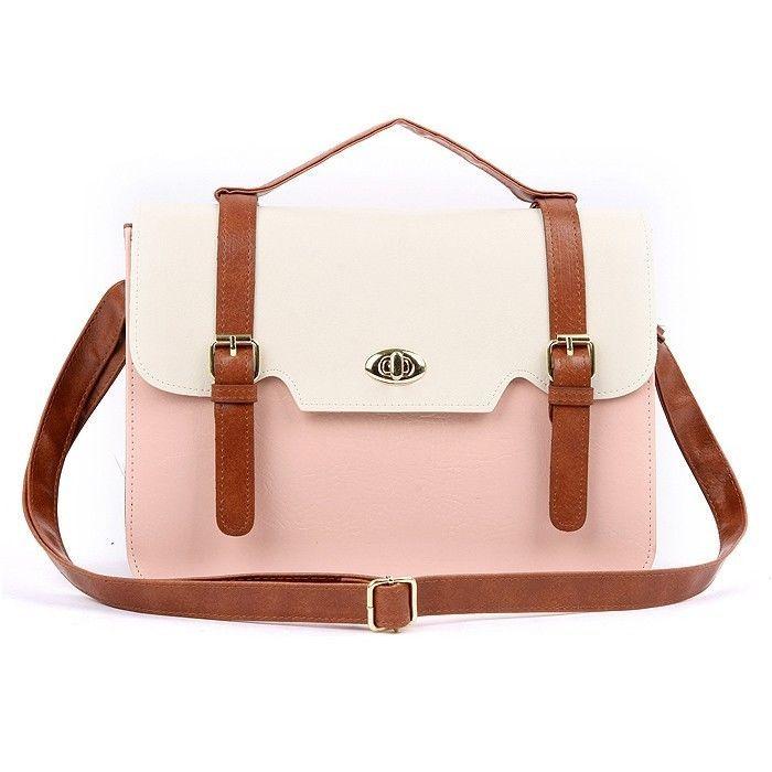 5fd88f238cb4 NEW Women Ladies Messenger Satchel Bag Cross Body Square Shoulder Handbag  Totes in Clothing