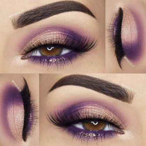 Pretty Makeup Ideas for Light Brown Eyes picture 2 | lifestylezz #prettymakeup