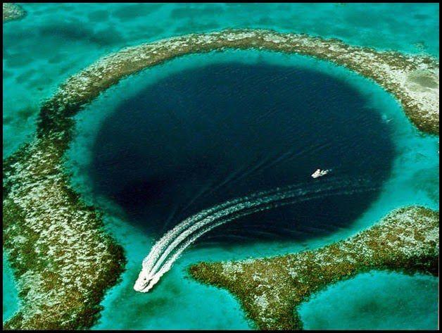 Cientistas encontram indícios do fim dos maias no 'Grande Buraco Azul'. | Disso Você Sabia...? FATOS