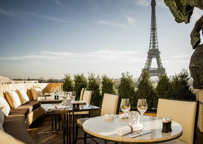 With Sweeping Views Of The Eiffel Tower The Newly Reimagined