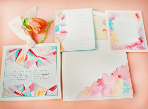 Watercolour Cards With Images Wedding Stationery Wedding