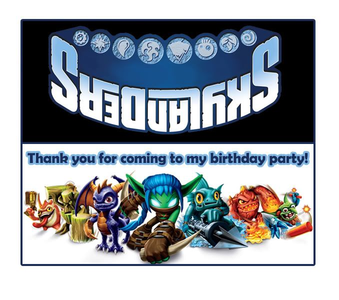 Need help for a Skylanders Birthday - The DIS Discussion Forums - DISboards.com