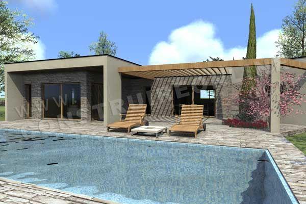plan-maison-toit-plat-contemporaine-VICTORYjpg (600×400) Plans