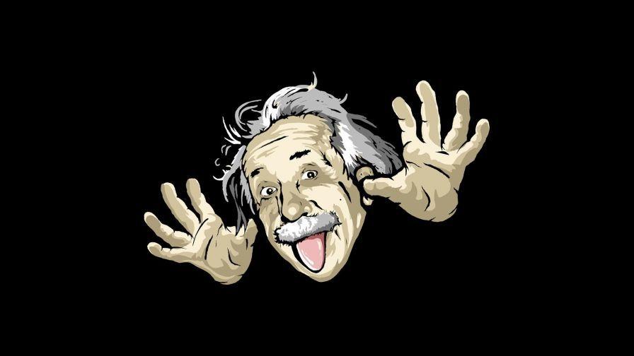 Funny Einstein Wallpaper In 2019 Genius Quotes Einstein