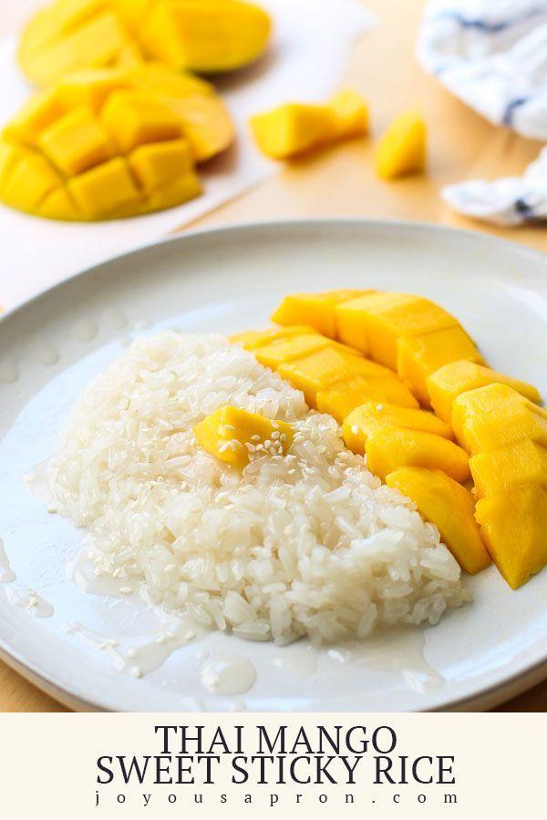 Thai Mango Sweet Sticky Rice