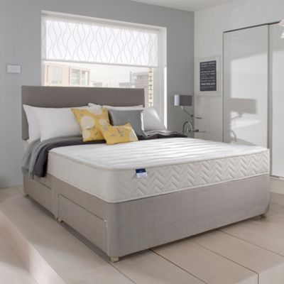 Miracoil Memory Divan Bed And Mattress Set At Debenhams Com