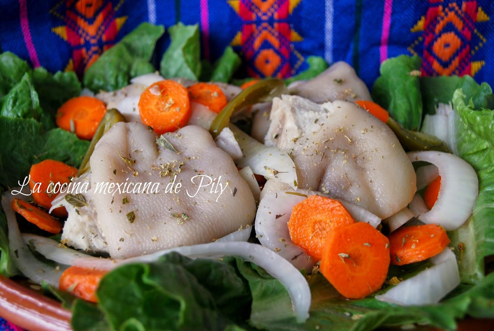 Patitas de cerdo en vinagre y fotos de irapuato for Cocinar patas de cerdo