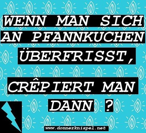 Fragen über Fragen #werwiewas #fragen #foodporn #samstags #Kaffee #donnerknispel #donnerknispelmag #hipsterpunk #crep #pfannkuchen #pancakes #girlpower #food #girlswithfood #brunch  #saturday #girlswithcarbs
