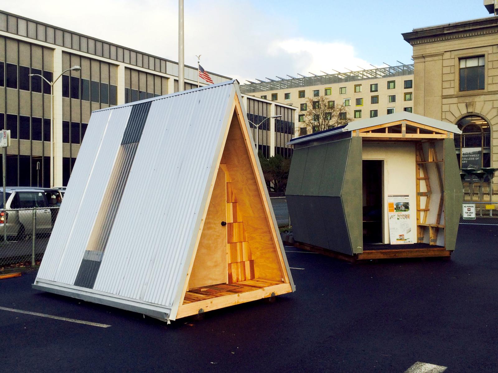Photo 3 Of 8 In How Tiny Pods Are The Future For Portland S Houseless Tiny House Community Tiny House Tiny House Cabin