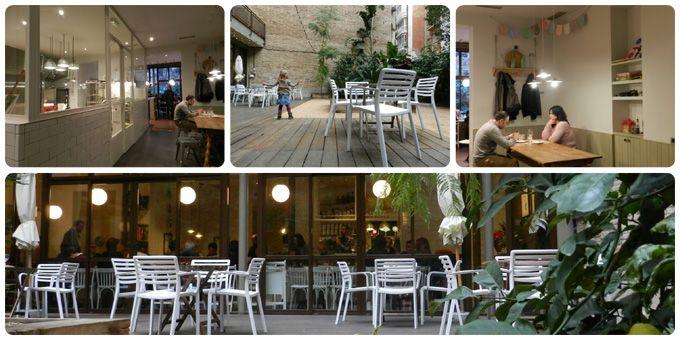 Sarria-Sant Gervasi- La Criolla con patio interior. Muntaner 423