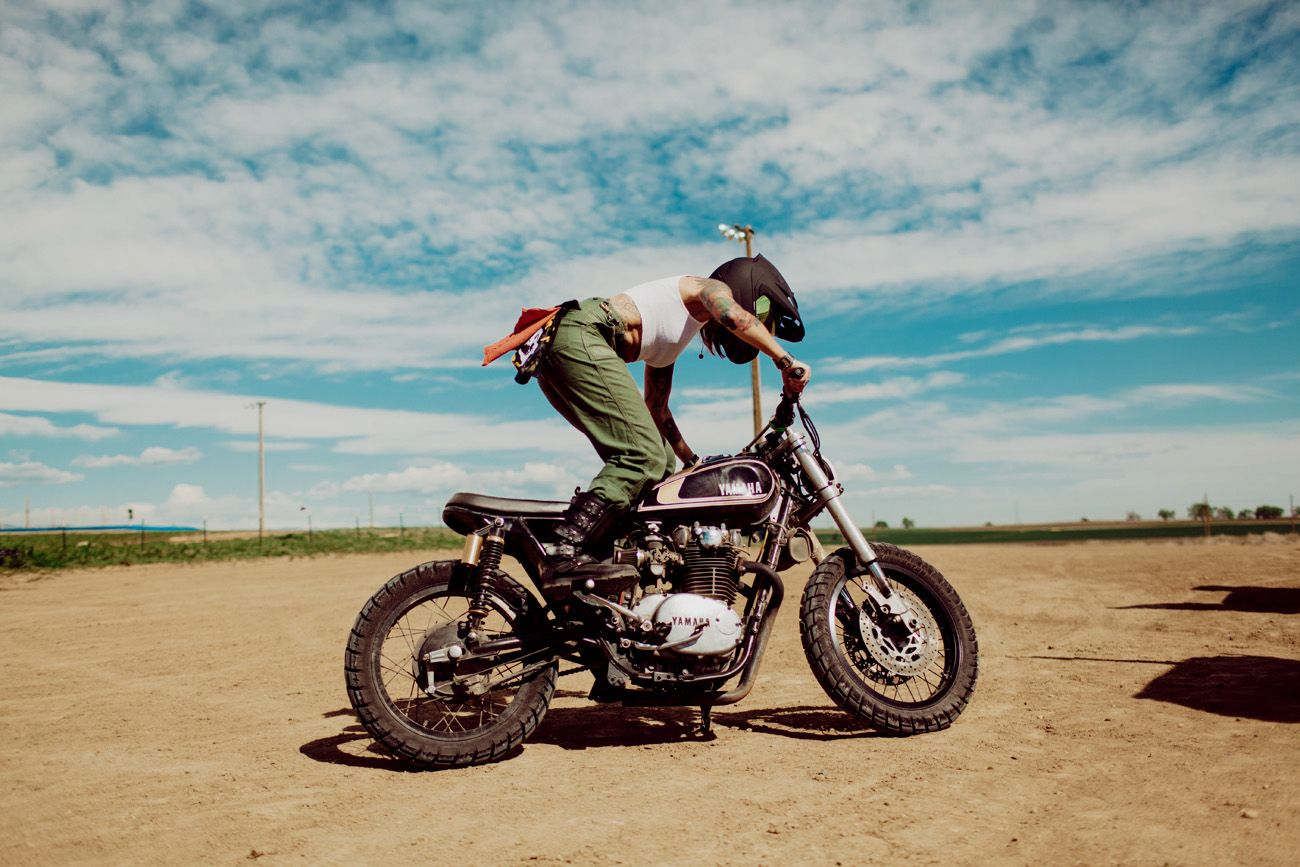 Vintage Bikes on the Dirt in Denver – Moto Lady