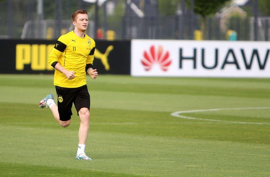 BVBTraining in Brackel am 13. Mai Borussia dortmund
