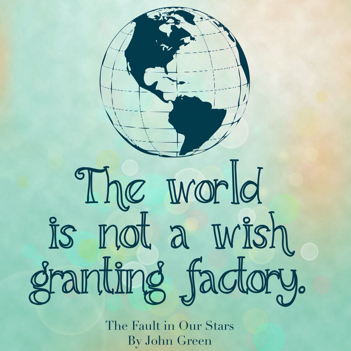Earning | Wish granted, The fault in our stars, Book ...