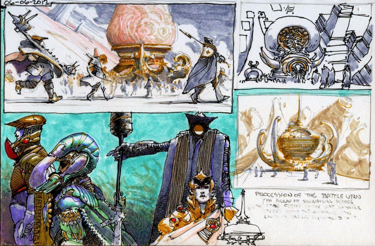 M.C.Barrett Concept Art Concept art, Art, Comic books