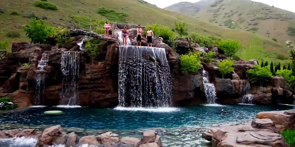 This 2 Million Natural Swimming Pool Features 5 Spectacular