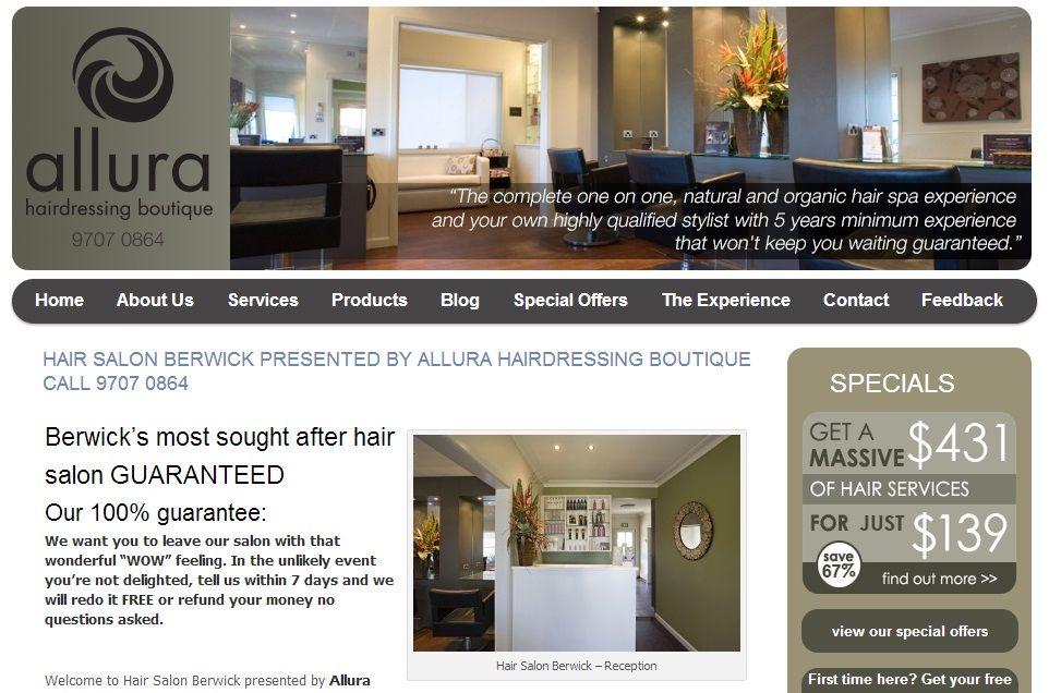 Pin On Hair Beauty Salon Websites In Melbourne Australia