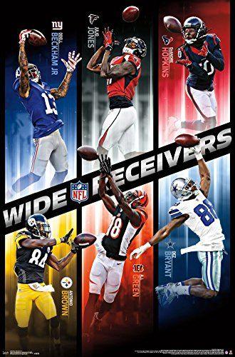 Nfl Football Wide Receivers Wall Art Poster Odel Beckham Jr
