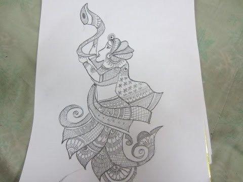 Mehndi Peacock Designs Drawings : How to draw mehndi bridal design shape k mehndiplus