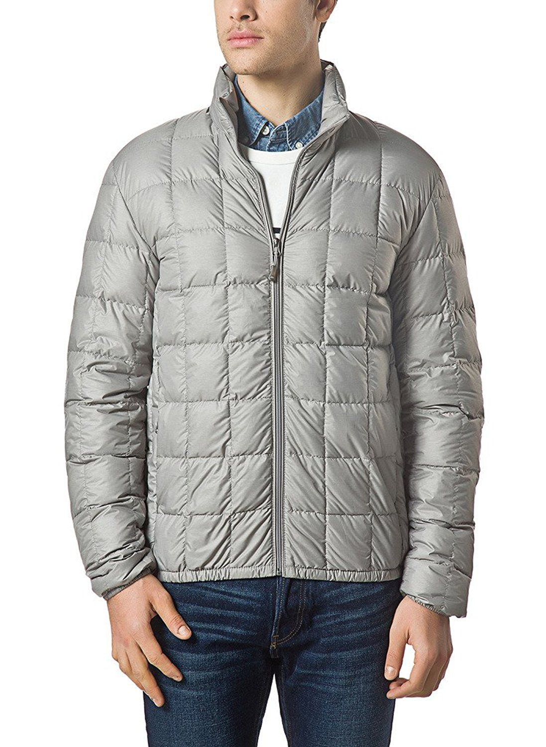 XPOSURZONE Men Packable Down Quilted Puffer Jacket Lightweight ...