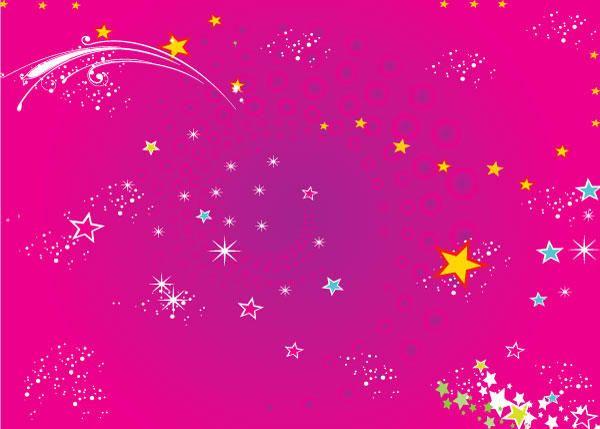 Color Stars Background Pink background images, Star