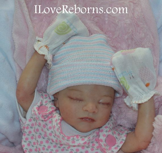 Custom Made for you... Micro Preemie Reborn Baby Doll at 26 weeks ...