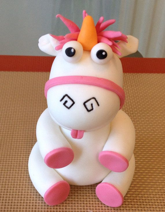 Terrific Despicable Me Unicorn Edible Cake Topper By Elassweetheaven Personalised Birthday Cards Cominlily Jamesorg