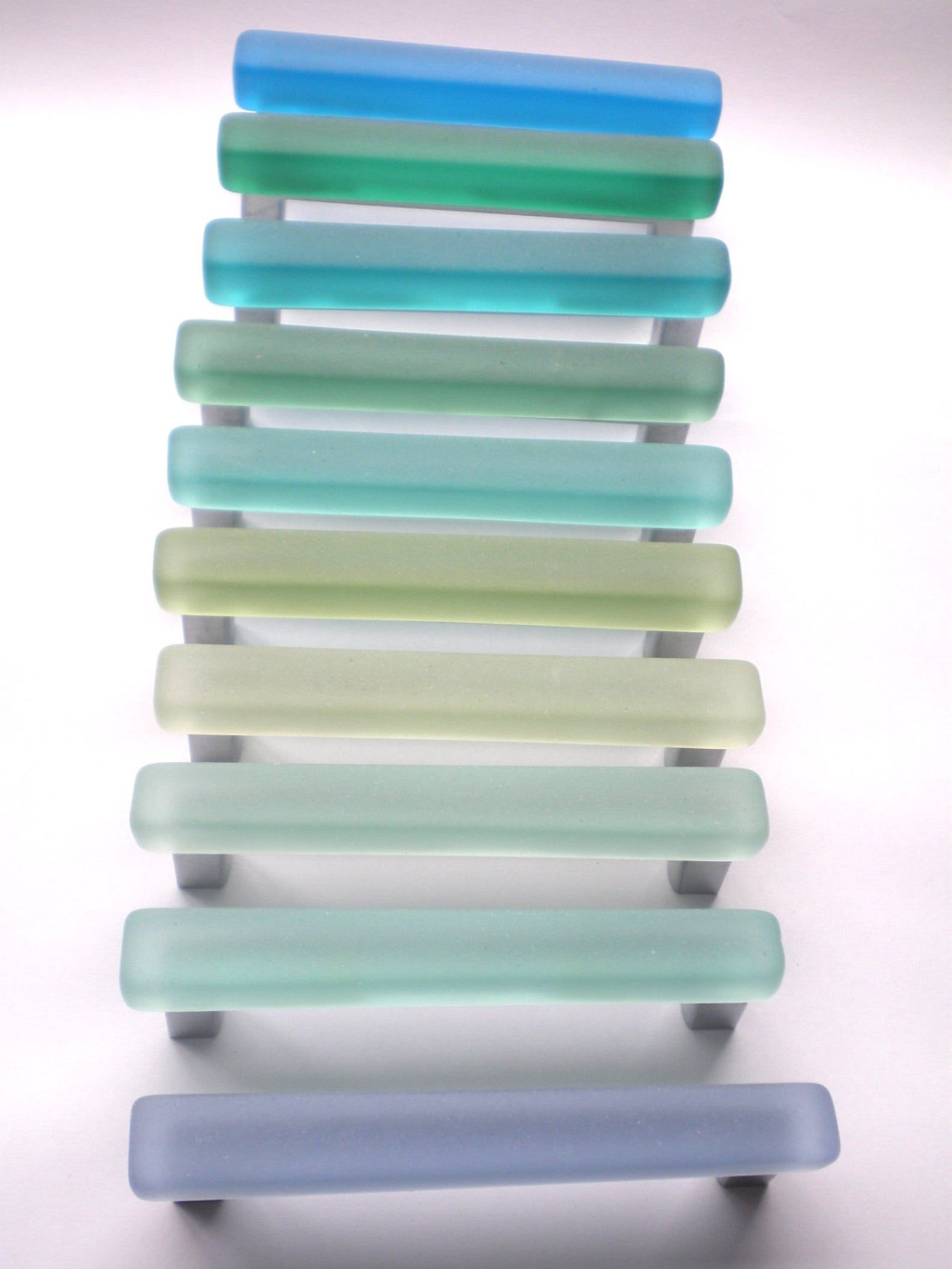 10 Beach Glass Pulls Etsy